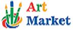 Логотип Art market UA