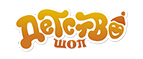 Логотип Детство-шоп
