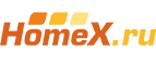 Логотип HomeX